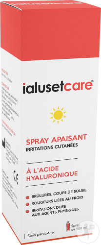 Ialuset Care Spray Apaisant Irritations Cutanées Flacon 100ml
