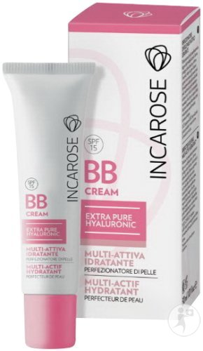 Incarose BB Cream Extra-Pure Hyaluronic Hydraterende Multi-Actieve Huidperfectie Light 30ml