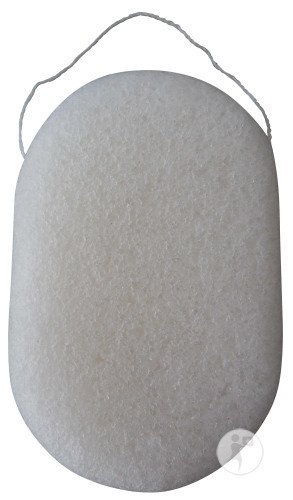 Konjac Dermotechnic Oval Natural Baby Spons