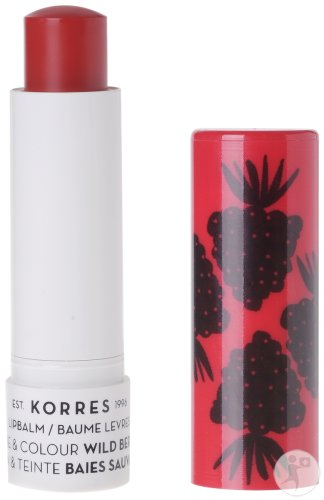 Korres KB Lipbalm Care & Colour Wild Berries 5ml