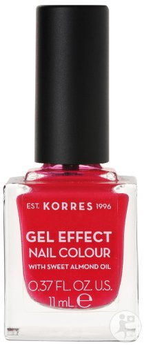 Korres KM Gel Effect Nail Colour 19 Watermelon 11ml