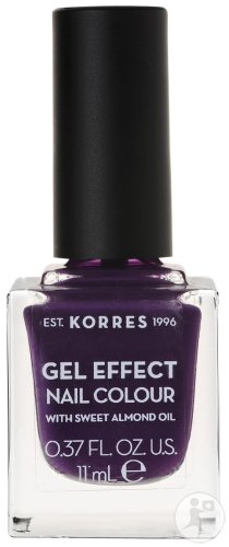 Korres KM Gel Effect Nail Colour 75 Violet Garden 11ml