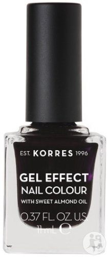 Korres KM Gel Effect Nail Colour 76 Smokey Plum 11ml