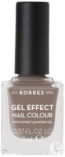 Korres KM Gel Effect Nail Colour 95 Stone Grey 11ml