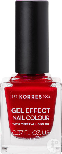 Korres KM Gel Effect Nail Melted Rubies 11ml