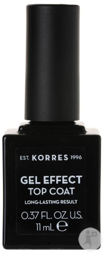 Korres KM Gel Effect Top Coat 11ml