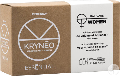 Kryneo Essential Woman Activerende Oplossing Voor Volume En Glans 2x60 Capsules