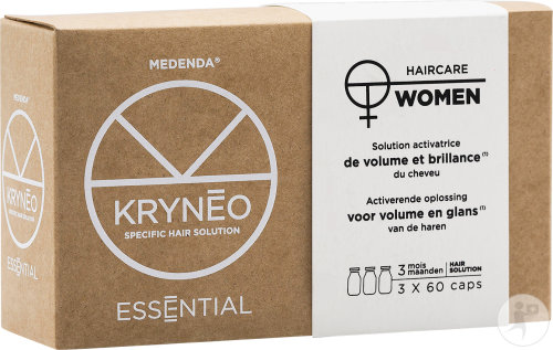 Kryneo Essential Woman Activerende Oplossing Voor Volume En Glans 3x60 Capsules