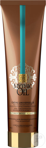 L'Oréal Professionnel Mythic Oil Universal Cream Alle Haartypen Tube 150ml