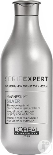 L'Oréal Professionnel Serie Expert Silver Magnesium Neutralising Shampoo Grey And White Hair 300ml