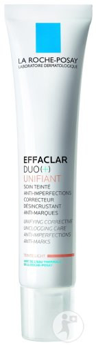 La Roche-Posay Effaclar Duo (+) Unifiant Getinte Verzorging Tegen Imperfecties Acne Huid Light 40ml