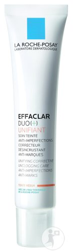 La Roche-Posay Effaclar Duo (+) Unifiant Getinte Verzorging Tegen Imperfecties Acne Huid Medium 40ml