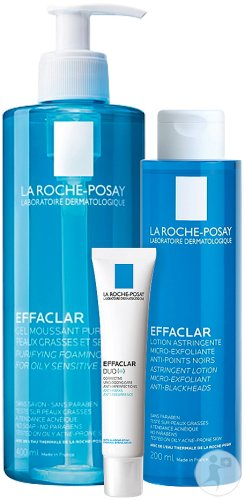 La Roche-Posay Effaclar Global Anti-Acne Mild Routine