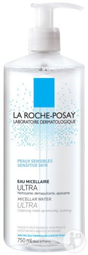 La Roche-Posay Fysiologische Reiniging Oplossing Micellair Ultra Fles 750ml