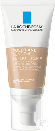 La Roche-Posay Toleriane Sensitive Le Teint Getinte Crème Light Tube Met Pompje 50ml