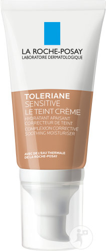 La Roche-Posay Toleriane Sensitive Le Teint Getinte Crème Medium Tube Met Pompje 50ml