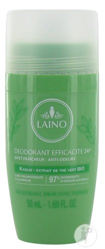 Laino Deodorant 24u Groene Thee Bio Roll On 50ml