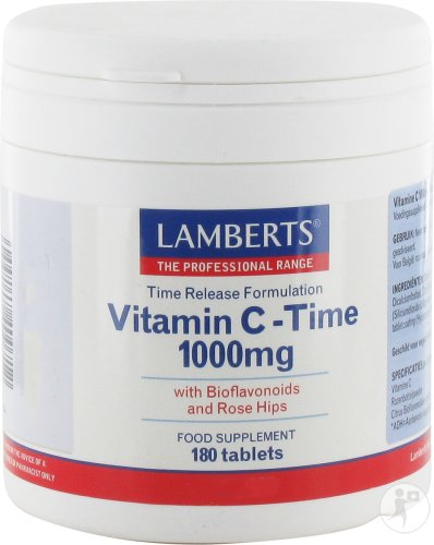 Lamberts Vitamine C 1000mg Time Release 180 Tabletten