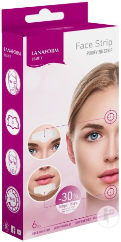 Lanaform Face Strips Patch Anti-Puistjes 6 Stuks (LA130208)