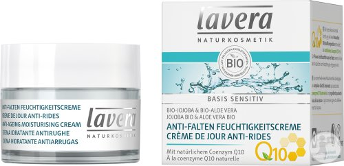 Lavera Basis Sensitiv Hydraterende Anti-Verouderingscreme Q10 50ml