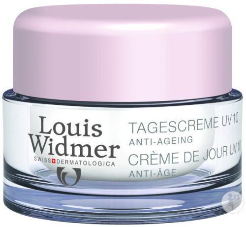 Louis Widmer Dagcrème UV 10 Licht Geparfumeerd Pot 50ml