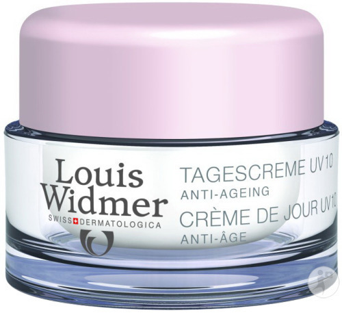 Louis Widmer Dagcrème UV 10 Zonder Parfum Pot 50ml