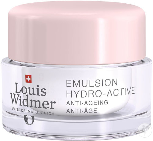Louis Widmer Emulsion Hydro-Active Zonder Parfum Pot 50ml
