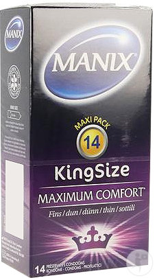 Manix King Size Condoms 14