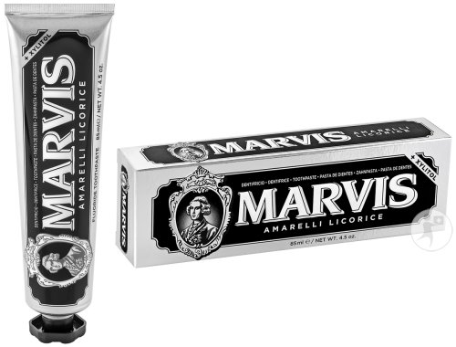 Marvis Amarelli Licorice Tandpasta Tube 85ml