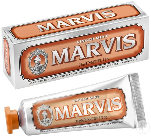 Marvis Ginger Mint Tandpasta Tube 25ml