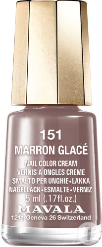 Mavala Mini Color Nagellak Marron Glace N°151 Fles 5ml