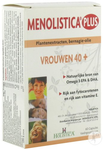 Menolistica Plus Caps 60 Holistica