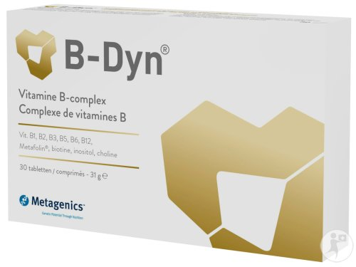 Metagenics B-Dyn Vitamine B-Complex 30 Tabletten (21522)