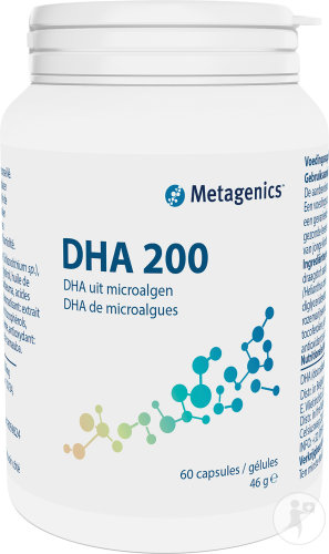 Metagenics DHA 200 Pot 60 Capsules (19753)