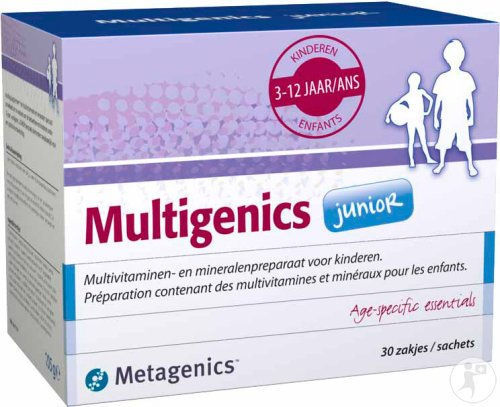 Metagenics Multigenics Junior 30 Zakjes