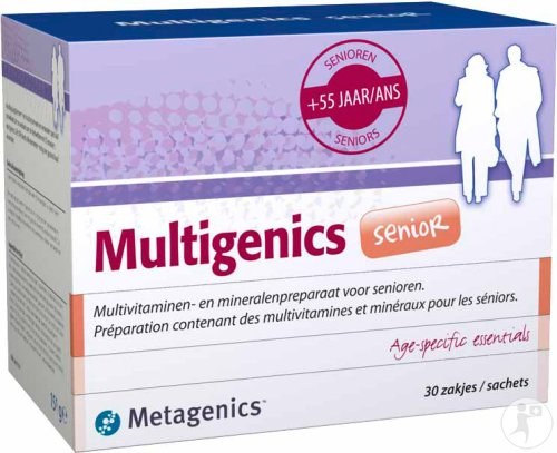 Metagenics Multigenics Senior 30 Zakjes