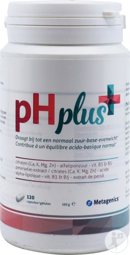 Metagenics pH Plus Pot 120 Capsules (20554)