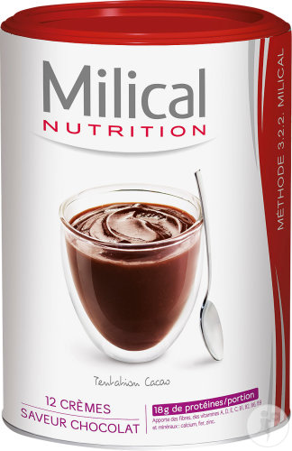 Milical Nutrition Hyperprotéiné Chocoladecreme Pot 12 Porties