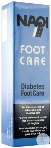 Naqi Foot Care Diabetes En Droge Huid 100ml