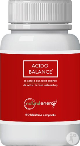 Natural Energy Acido Balance Zuur-Base Evenwicht 60 Tabletten