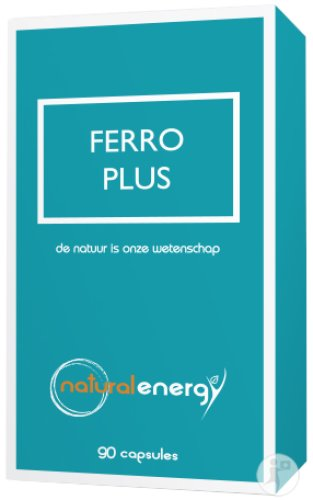 Natural Energy Ferro Plus 90 Capsules