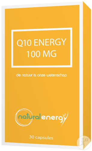Natural Energy Q10 Energy 100mg Voedingssupplement 30 Capsules