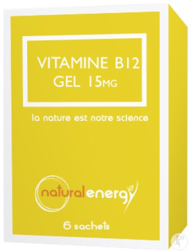 Natural Energy Vitamine B12 Gel 6x1,5ml