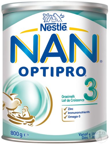 Nestlé Nan Optipro 3 Groeimelk Pot 800g