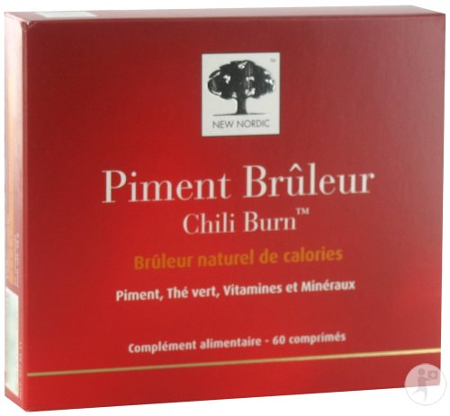 New Nordic Piment Brûleur 60 Tabletten