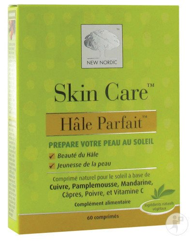 New Nordic Skin Care Hâle Parfait 60 Tabletten