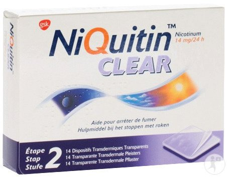 Niquitin Clear 14 Patches 14mg