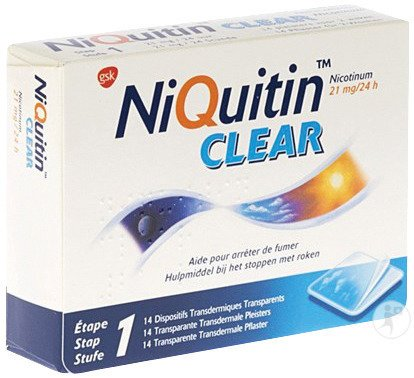 Niquitin Clear 14 Patches 21mg