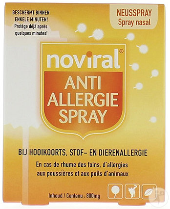 Noviral Anti Allergie Spray Poeder 500mg