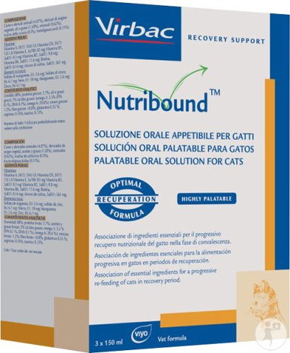Nutribound Cat Tripack Susp Buva 3x150ml